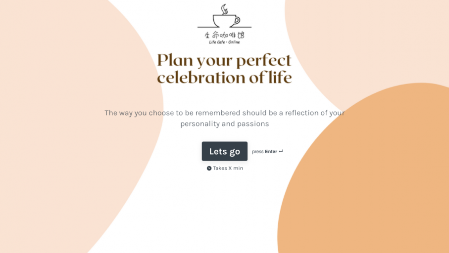 Plan your perfect celebration of life